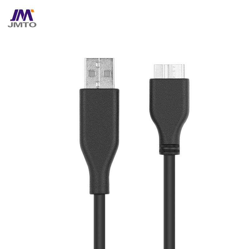 USB 3.1 A To Micro-B Cable White 5Gbps Mobile hard disk data cable